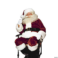 Santa Suit Crimson Imperial Adult Men's Costume
