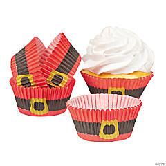 Santa Suit Cupcake Liners
