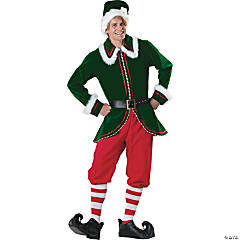 Santa's Elf Costume - Adult Men's