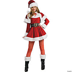 Santa's Helper Costume for Women