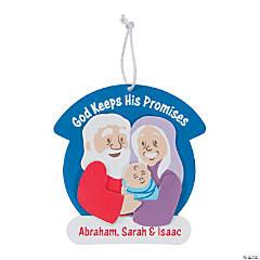 Sarah & Abraham Ornament Craft Kit