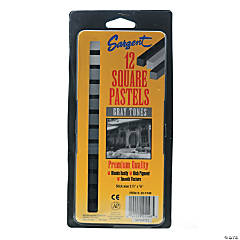 Sargent Square Pastel Sticks Gray Tones