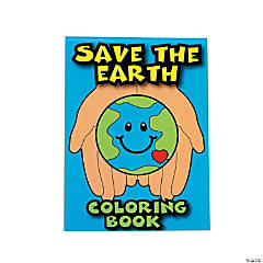 Save the Earth Coloring Books