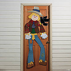 Scarecrow Jointed Cutout