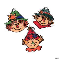 Scarecrow Suncatchers