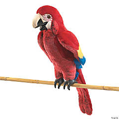 Scarlet Macaw Hand Puppet