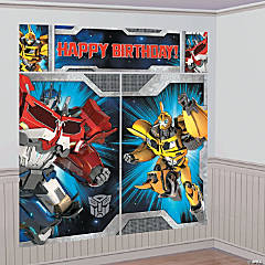 Scene Setters™ Transformers™ Wall Decoratings Kit