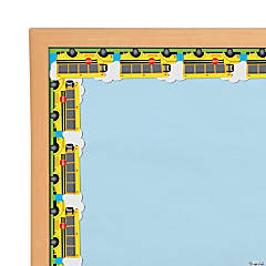 School Bus Bulletin Board Borders