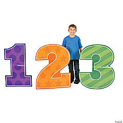 School Days 123 Cardboard Stand-Ups