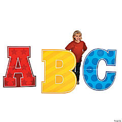School Days ABC Cardboard Stand-Up