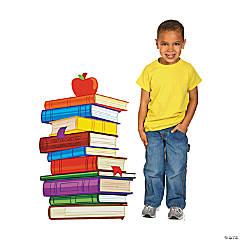 School Days Book Cardboard Stand-Up