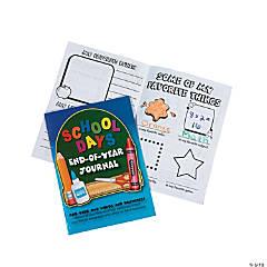 School Days End-Of-Year Journals