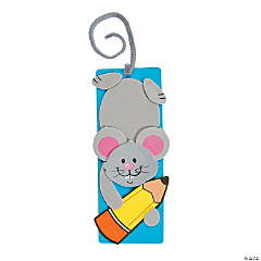 School Mouse Bookmark Craft Kit
