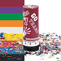 School Spirit Party Poppers