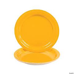 Schoolbus Yellow Paper Dinner Plates