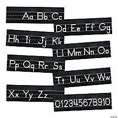 Schoolgirl Style™ Industrial Chic Alphabet Line Mini Bulletin Board Set