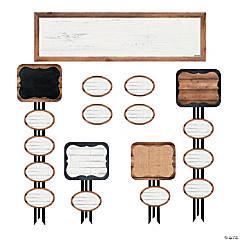 Schoolgirl Style™ Industrial Class Jobs Mini Bulletin Board Set