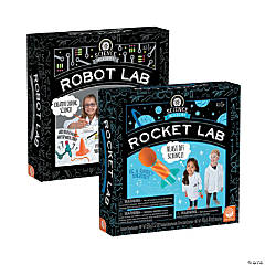 Science Academy Rocket and Robot Lab: Set of 2