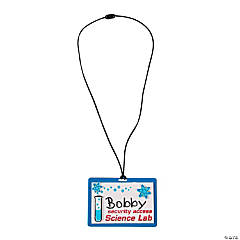 Science Lab VBS Name Tag Craft Kit