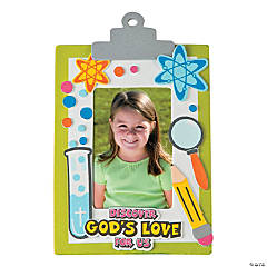 Science Lab VBS Picture Frame Magnet Craft Kit