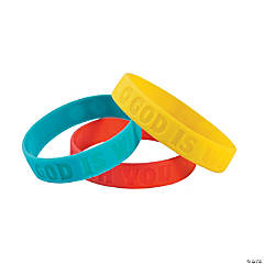 Science Lab VBS Rubber Bracelets