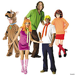 Scooby Doo Gang Group Costumes
