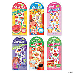 Scratch & Sniff Treats Sticker Set