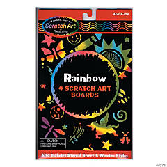 Scratch Art Scratch Magic Kits Rainbow