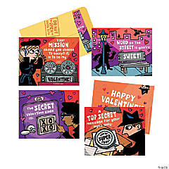 Scratch-Off Secret Agent Super Fun Valentine Pack