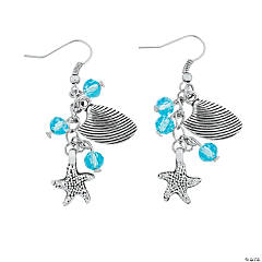 Sea Life Earrings Craft Kit