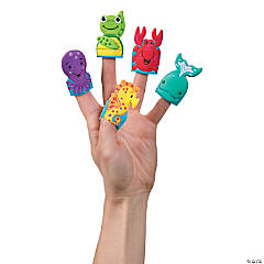 Sea Life Puffy Finger Puppets