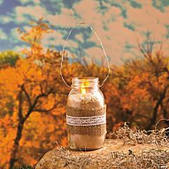 Sea Shell Mason Jar Candle Idea