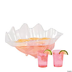Sea Shell Punch Bowl