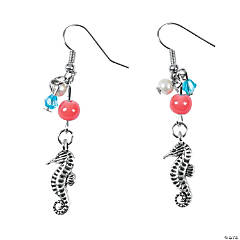 Seahorse Earrings Craft Kit