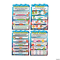Seaside Learning Grammar Posters
