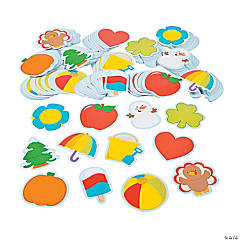 Seasonal Bulletin Board Cutouts