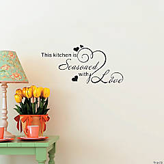 Seasoned with Love Wall Decals