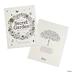Secret Garden Artist's Edition Adult Coloring Book by Johanna Basford