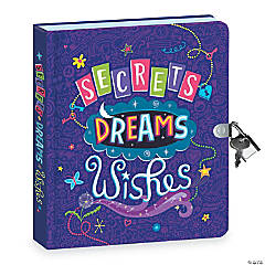 Secrets, Dreams, Wishes Diary
