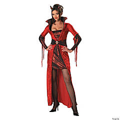 Seductive Devil Adult Women's Costume