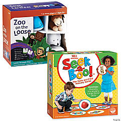 Seek-a-Boo! & Zoo on the Loose: Set of 2
