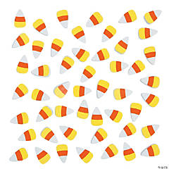 Self-Adhesive Candy Corn