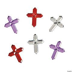 Self-Adhesive Cross Jewels