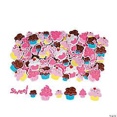 Self-Adhesive Cupcake Stickers