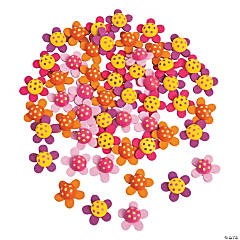 Self-Adhesive Flowers
