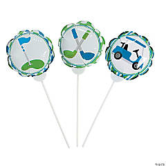 Self-Inflating Hole-In-One Mylar Balloons