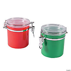 Self-Sealing Christmas Favor Jars