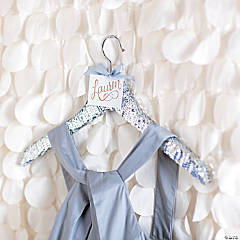 Sequin Trim Embellished Hanger Gift Idea