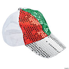Sequins Christmas Baseball Caps