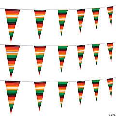Serape Pennant Banner